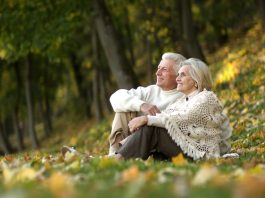 positive attitude aging self-care mindfulness relationship old age